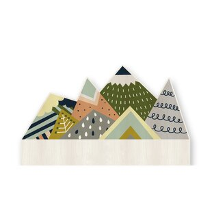 Mountains Kids Headboard By Zoomie Kids