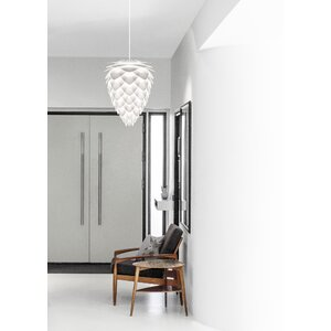 Yates 1-Light Plug-In Pendant