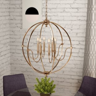 Zipcode Design Ellis 6-Light Globe Chandelier