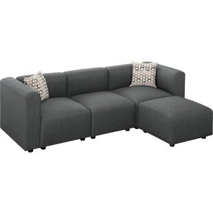 Lotte Reversible Modular Sectional by Wrought Studio 2019 Sale