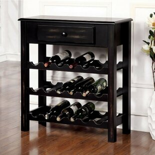 Bert Transitional 18 Wine Rack by Red Bar..