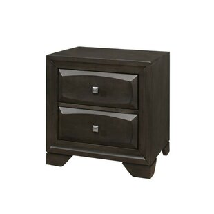 Younger 2 Drawer Nightstand