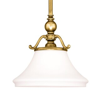 Fleur De Lis Living Branch 1-Light Cone Pendant