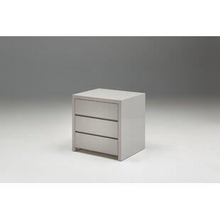 Mobital Blanche 3 Drawer Half Dresser (Set o..