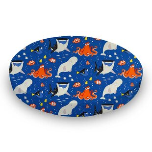 Best Price Finding Nemo and Dory Fitted Crib Sheet By Sheetworld