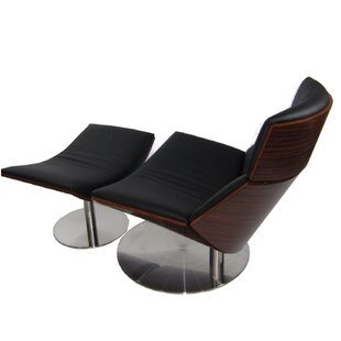 Fine Mod Imports Impress Lounge Chair and Ottoman Set