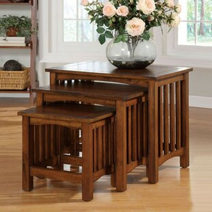 Price comparison Bluhm 3 Piece Nesting Tables by Red Barrel Studio