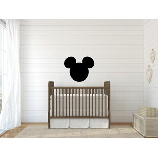 Mickey Mouse Head Silhouette Vinyl Wall Decal  sc 1 st  Wayfair & Mickey Mouse Wall Decals | Wayfair