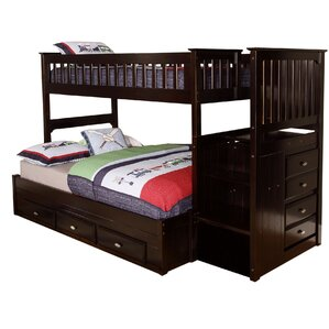 Kaitlyn Twin over Full Bunk Bed by Viv + Rae