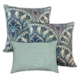 Mariaella Oriental Rugs Indoor / Outdoor Pillow Cover