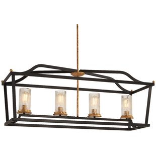Alcott Hill Helmer 4-Light Kitchen Island Pendant