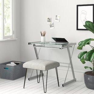 Modular Tempered Glass Desk Wayfair