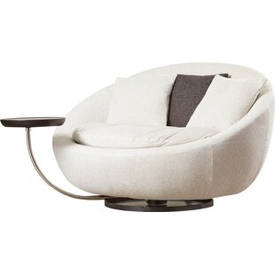 Wade Logan Gulf Breeze Swivel Barrel Chair