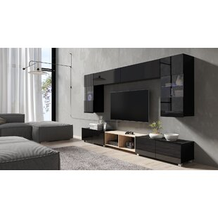 Bassler Entertainment Unit For TVs Up To 60