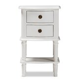 Nuttall 2 Drawer Nightstand by Alcott Hill®