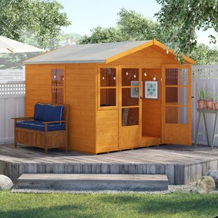 8.5 X 9 Ft. Shiplap Summer House By Sol 72 Outdoor