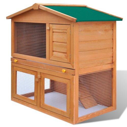 Kaninchenstall mit 3 Türen Archie & Oscar | Garten > Tiermöbel > Hasenställe-Kaninchenställe | Archie & Oscar