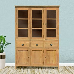 Pellerin Recycled Teak Cupboard Medium China Cabinet by Loon Peak