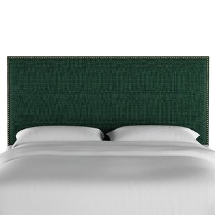 Gard Nail Button Border Upholstered Panel Headboard