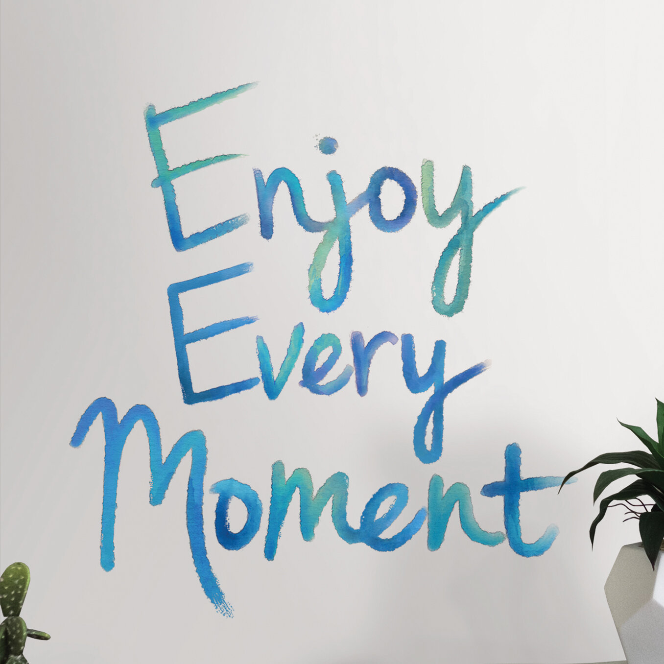 Gracie Oaks Enjoy Every Moment Quote Wall Decal Reviews Wayfair