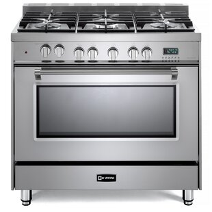 Prestige 36 Free-standing Dual Fuel Single Oven Range by Verona
