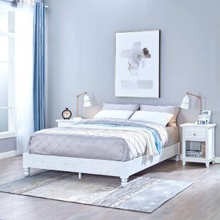 Shondra Bed Frame by White Noise