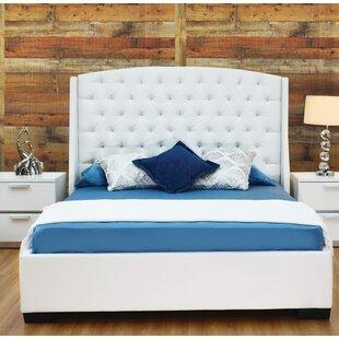 Everly Quinn Burslem Upholstered Platform Bed