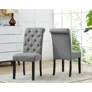 Niall Upholstered Dining Chair (Set of 2) DarHome Co