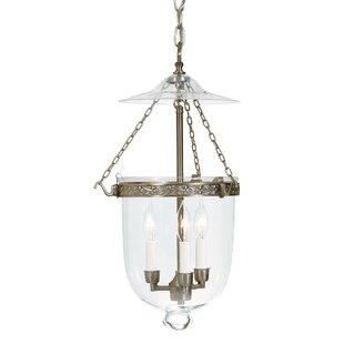 3-Light Urn Pendant by JVI..