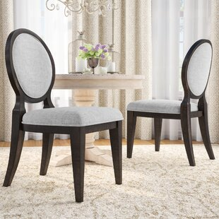 Suzann Round Fabric Side Chair (Set of 2) Laurel Foundry Modern Farmhouse