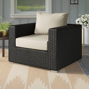 Tripp Outdoor Patio Chair with Cushions by Brayden Studio
