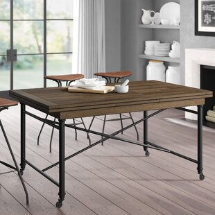 Roxann Refectory Extendable Dining Table Greyleigh