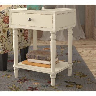 Mentone End Table With Storage by Three Posts