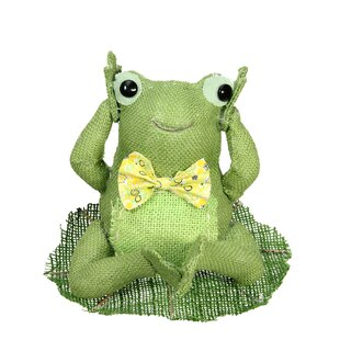 Decorative Sitting Frog Spring Table Top Decoration