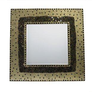 Bloomsbury Market Adriano Mosaic Square Accent Mirror