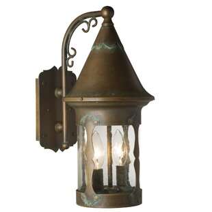 Atalaya 3-Light Outdoor Wall Lantern by L..