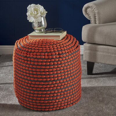Orange Poufs You Ll Love In 2019 Wayfair