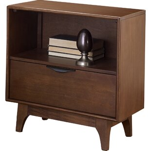 Theresa 1 Drawer Nightstand