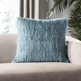 Tarentum Shag Outdoor Throw Pillow