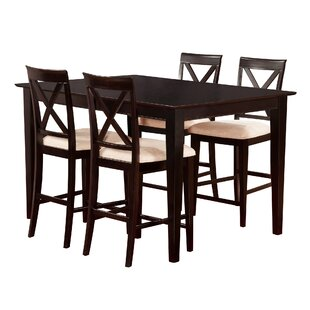 Crestwood 5 Piece Counter Height Dining Set ByAndover Mills