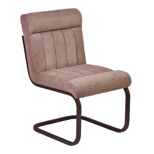Rabun Side Chair With Brown Upholstery (Set of 2) by Trent Austin Design