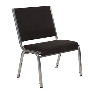Armless Stacking Chair with cushion by Offex