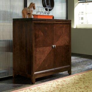 Red Barrel Studio Sealey Bar Cabinet with Wine Storage