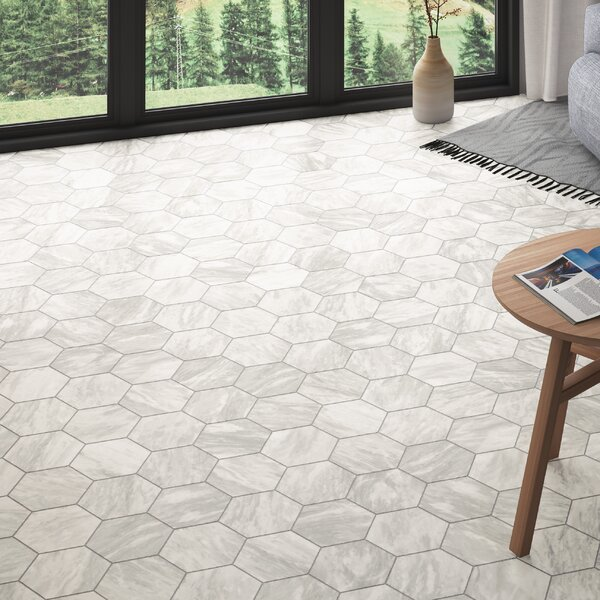 Elitetile Karra 7 X 8 Porcelain Stone Look Field Tile Reviews Wayfair