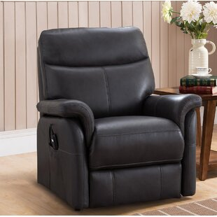 Xzavier Leather Power Lift Assist Recliner by Red Barrel Studio