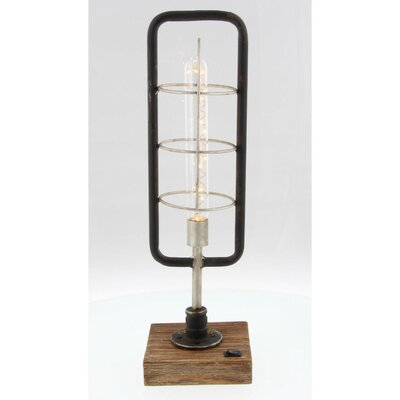 Bella Metal LED Lantern Benzara