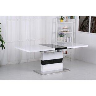 Virgina High Gloss Extendable Dining Table