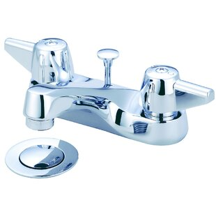 Central Brass Double Handle Centerset Bathro..