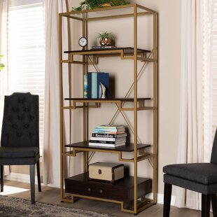 Buchholz Modern and Contemporary Etagere Bookcase