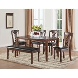 Downer 6 Piece Dining Set by Darby Home Co